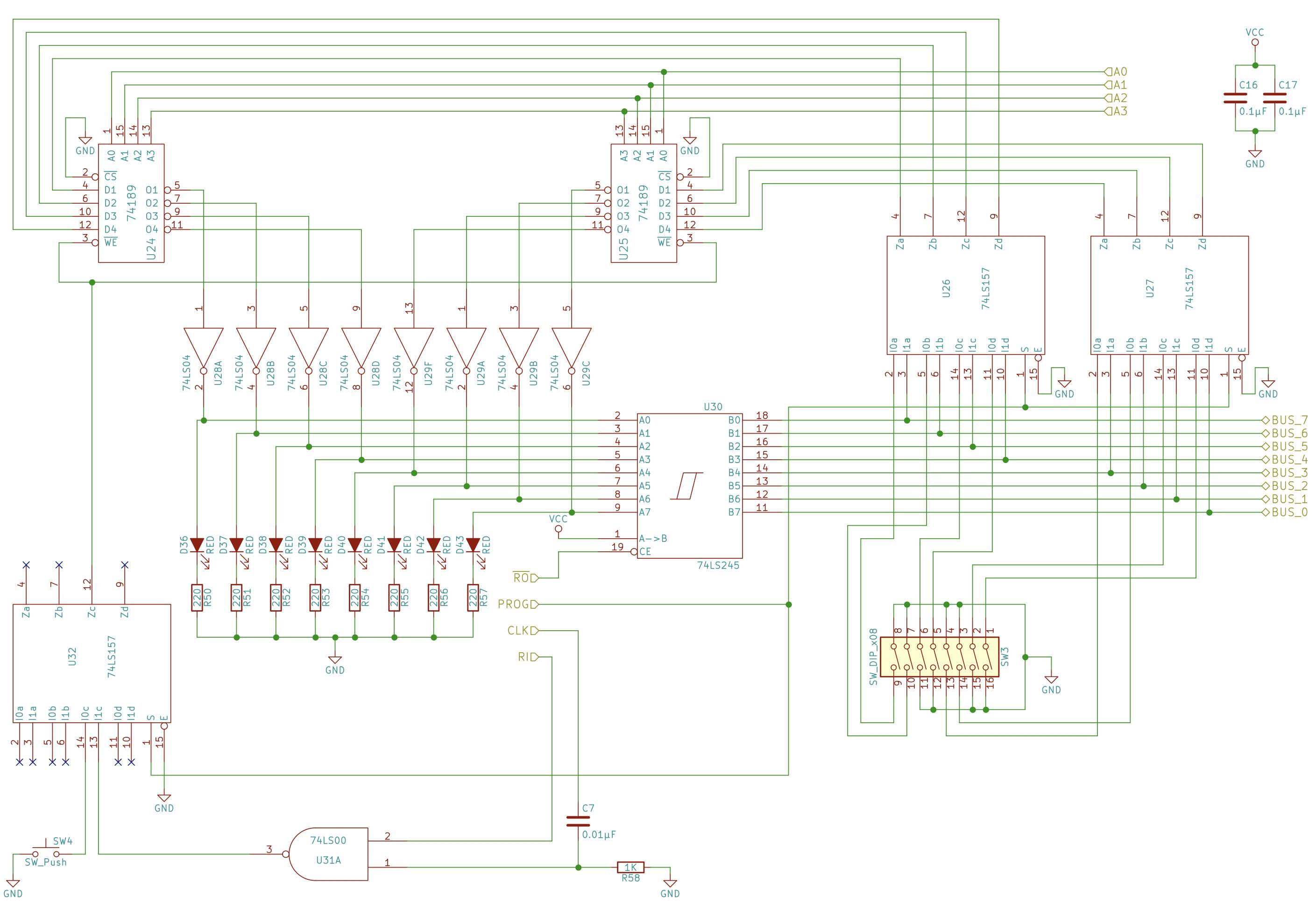 schematic of the ram module